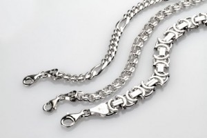 ezüst karkötő